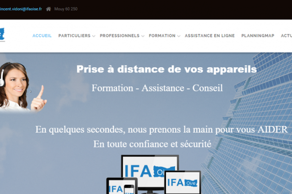Site internet WordPress IFA Oise